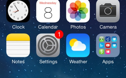 iOS 7 beta 3 update