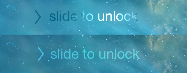 slide to unlock iOS 7.1 beta 4