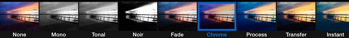Photo Filters on iPad
