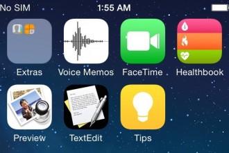 iOS 8 Healthbook app icon