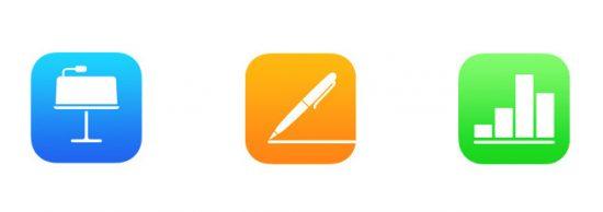 iWork app updates
