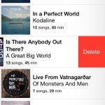 Delete album full iOS 8