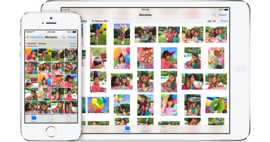 New Photos app iOS 8