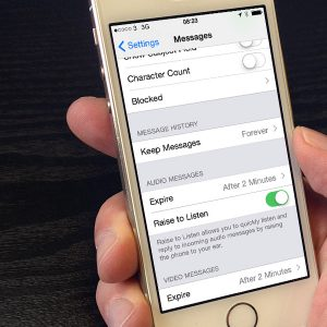 Keep Messages forever iOS 8 Featured