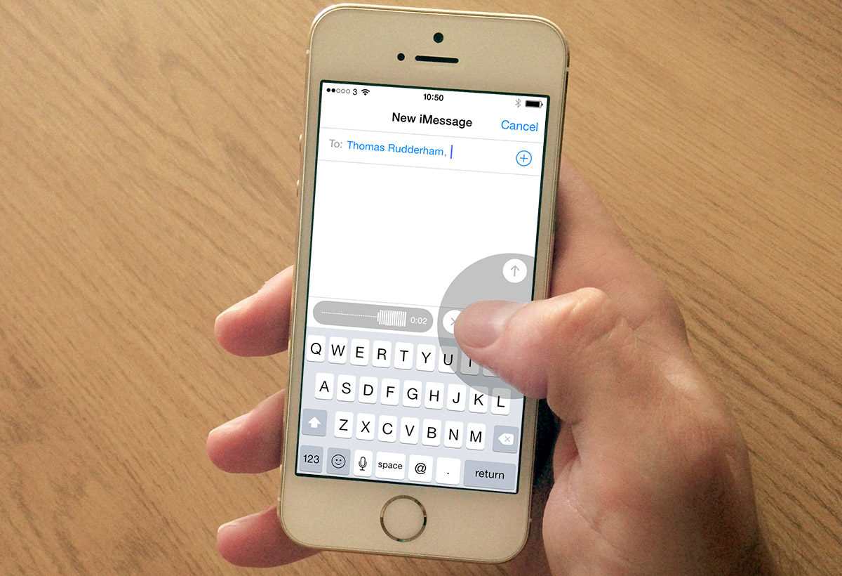 How To Record & Send An Audio Message Using Iphone & Ios