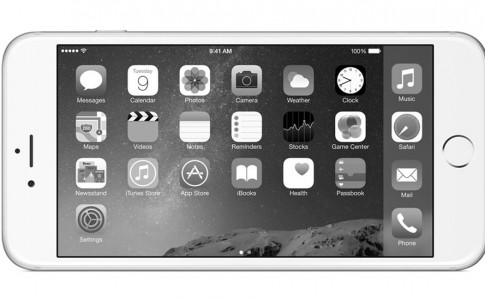 iPhone black and white featured