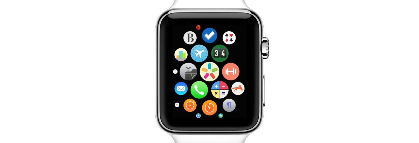 Apple Watch Home Screen scrolled