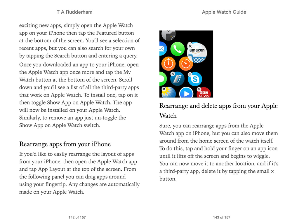 Apple Watch Guide Book 1
