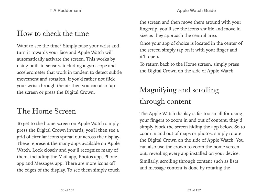 Apple Watch Guide Book 3