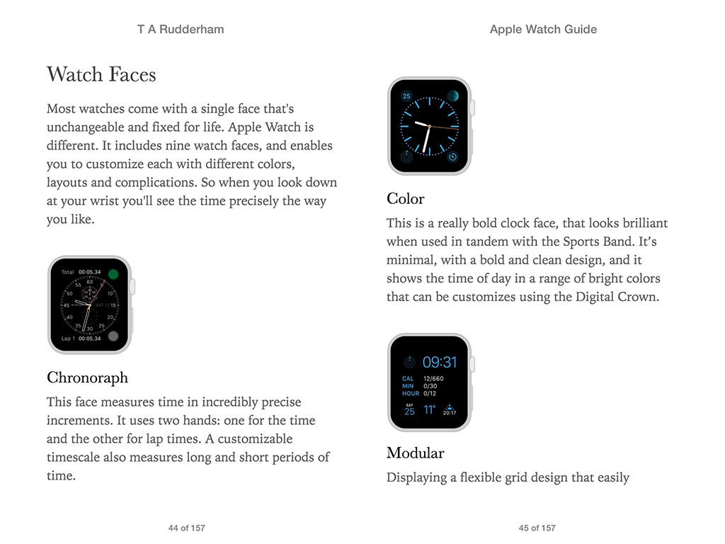 Apple Watch Guide Book 5