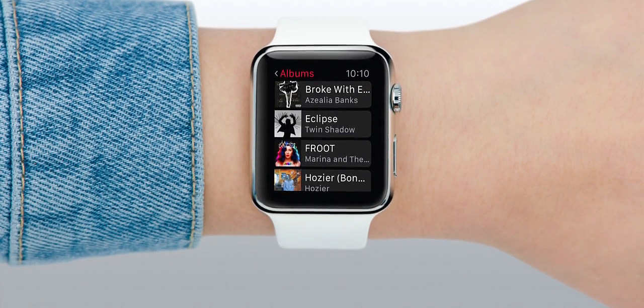 Apple Watch music app