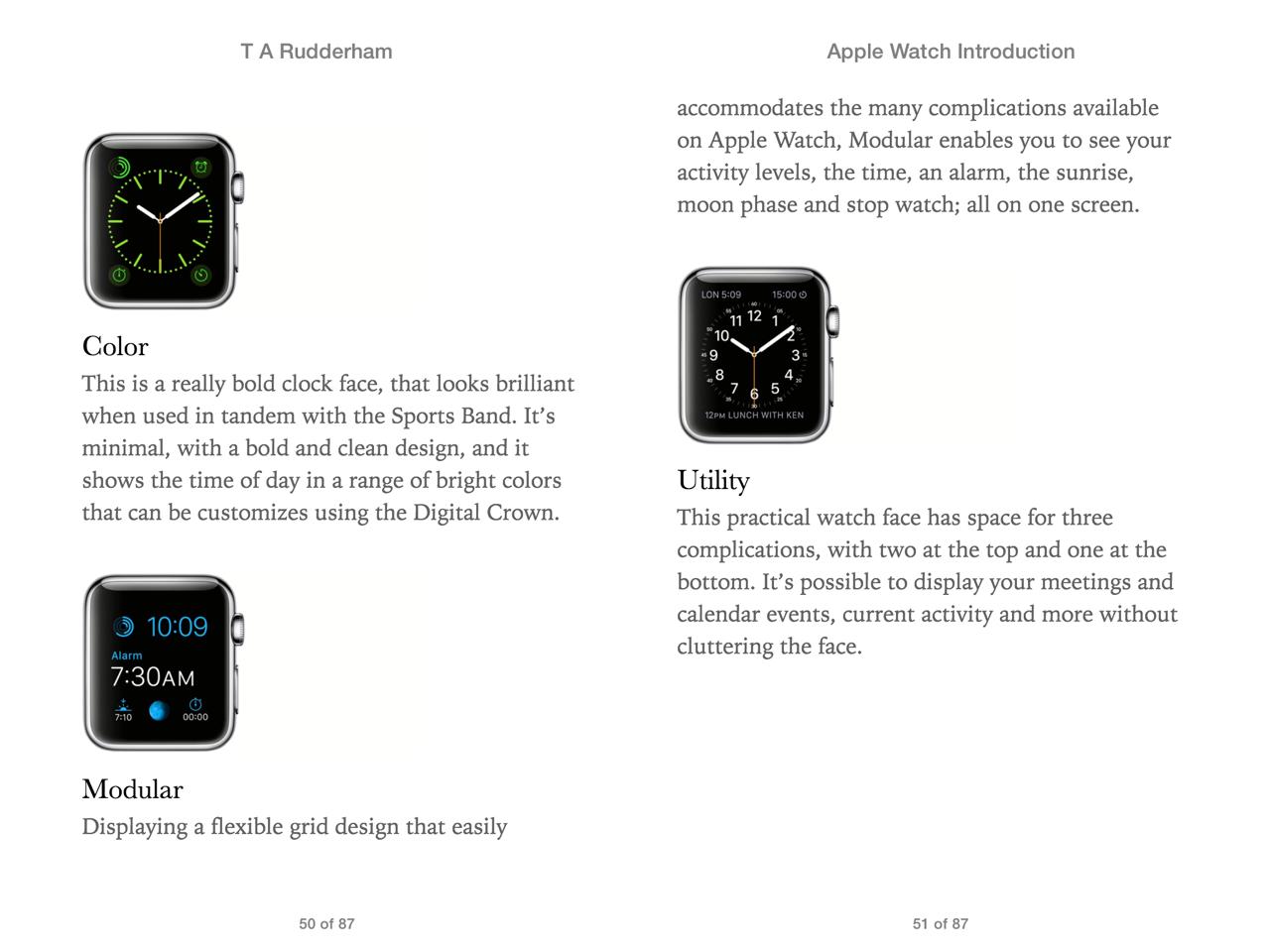 Apple Watch screen 2