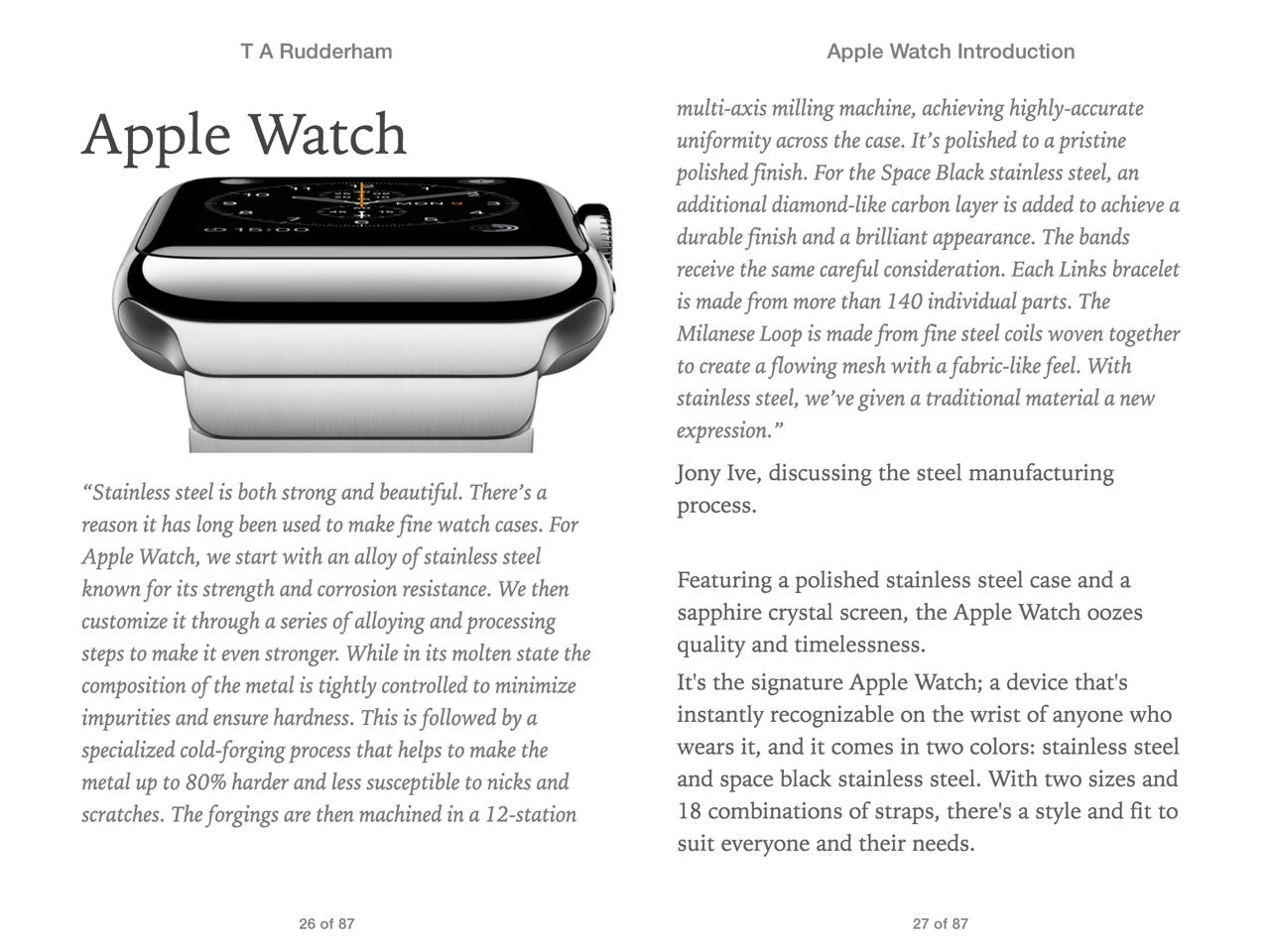 Apple Watch screen 4