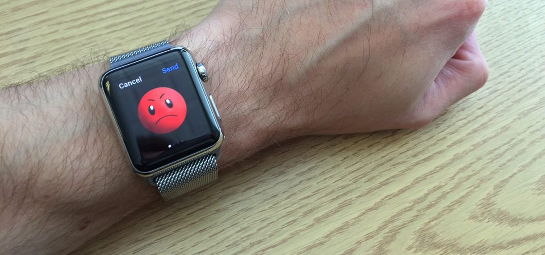 Customize the emoticon on Apple Watch