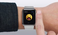 Send an emoji Apple Watch