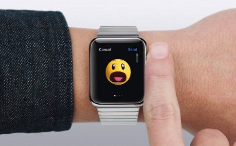 Send an emoji Apple Watch