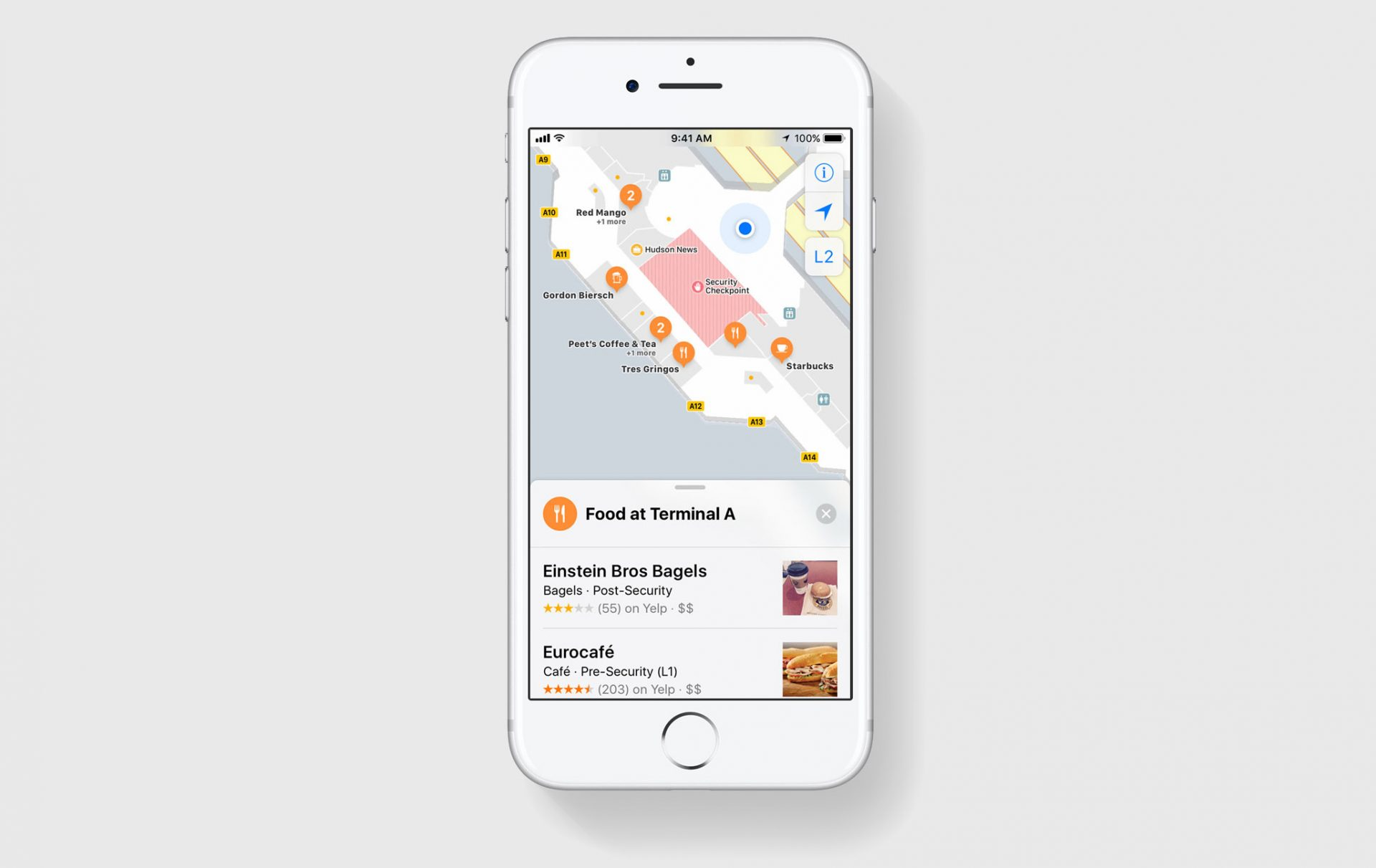 How To Search Indoor Maps Using Iphone And Ios 11