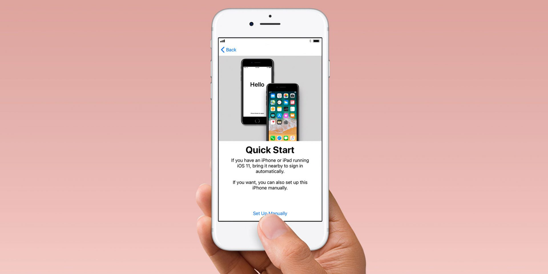 How to use Quick Start to transfer data from your old iPhone