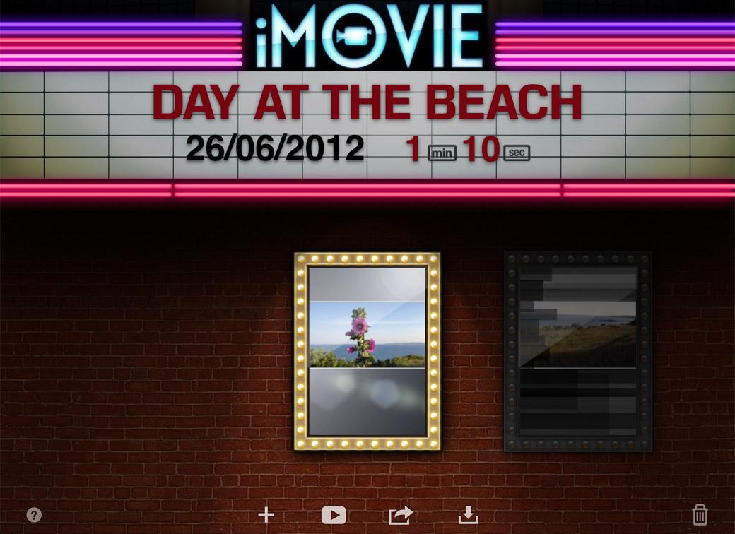 1 iMovie Home