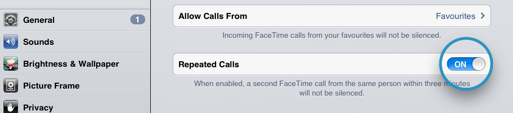 Repeat Calls