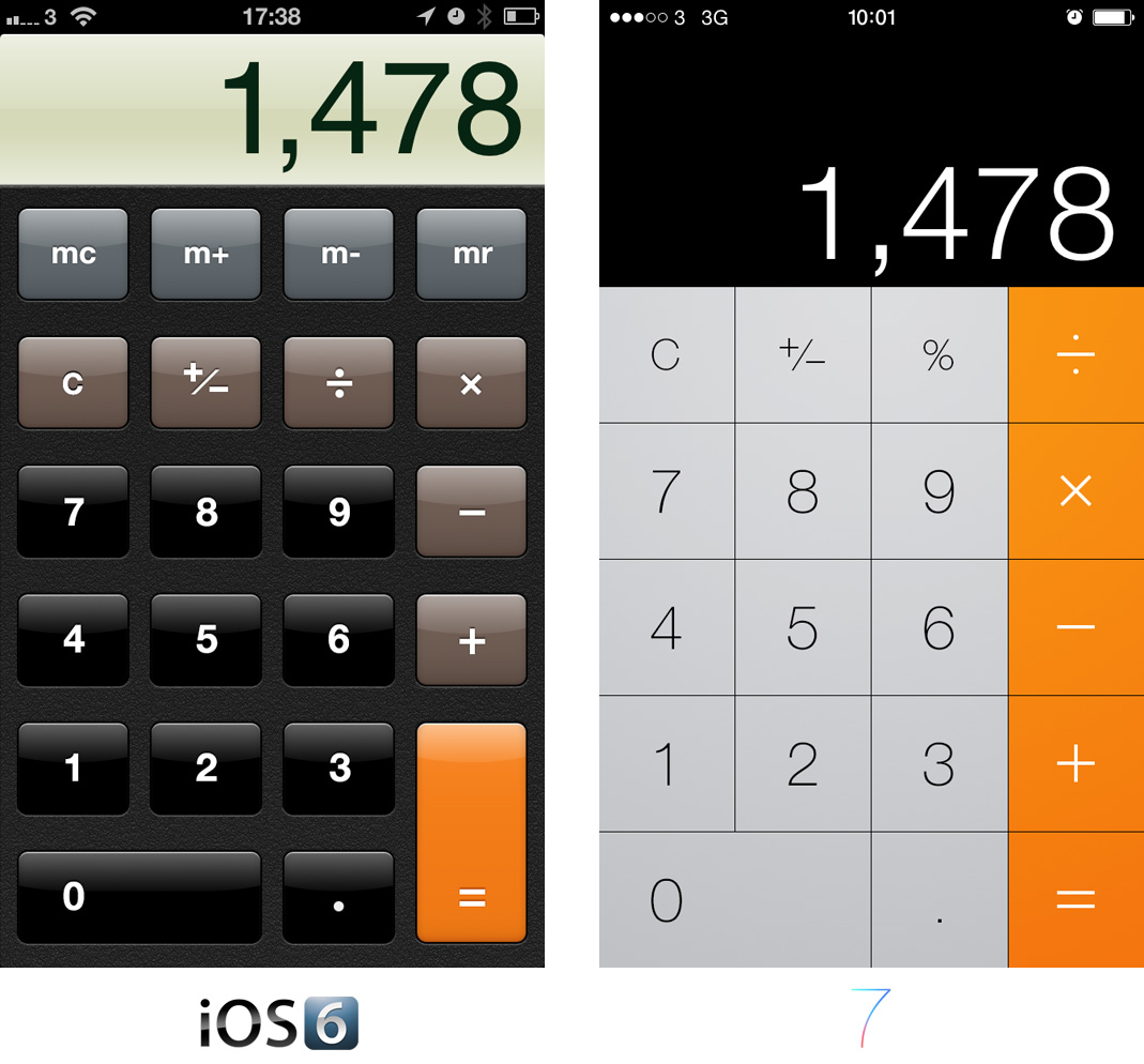 calculator app for iphone ios 7 apps comparisons 2999