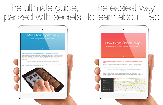 Guide for iPad app update 2