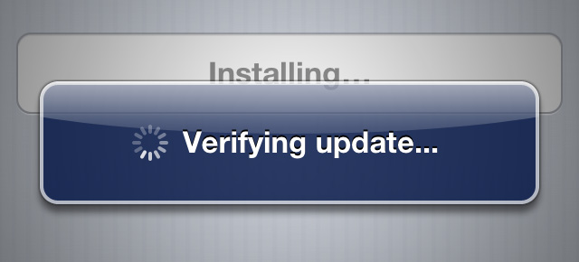 Update installing