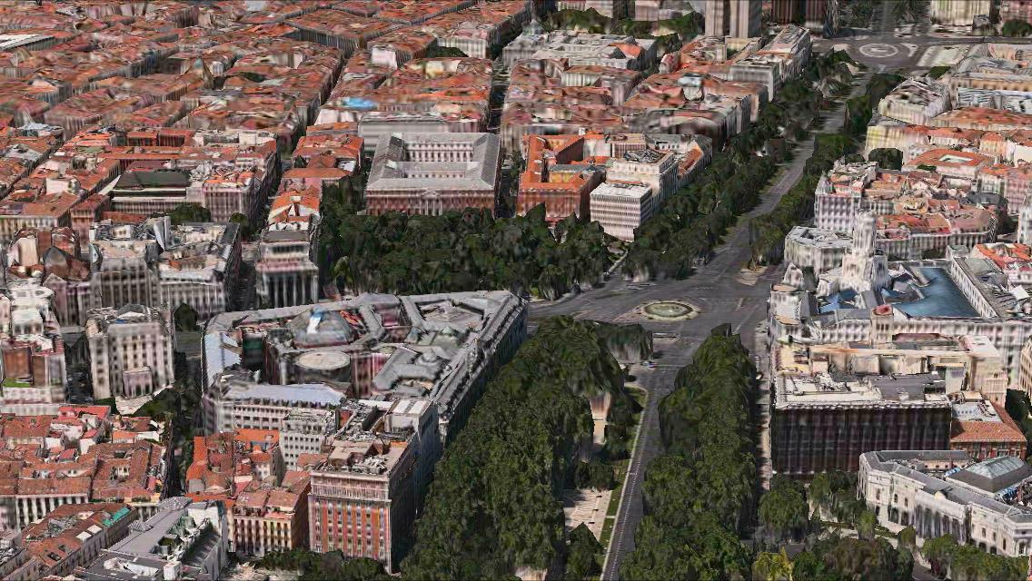 Madrid 3D Maps app iPhone