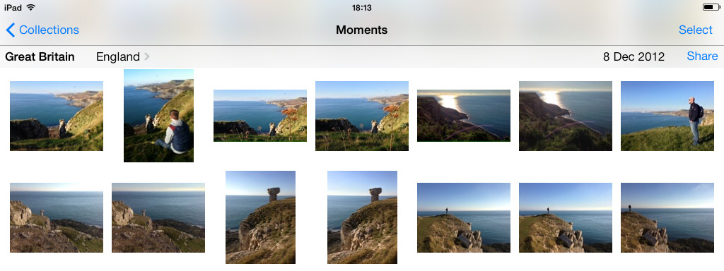 Photo Stream iCloud iOS 7