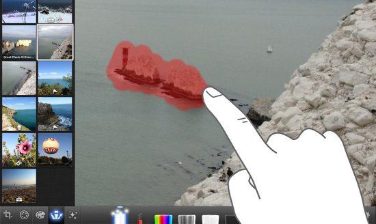 Repairing photo iPhoto iPad iPhone