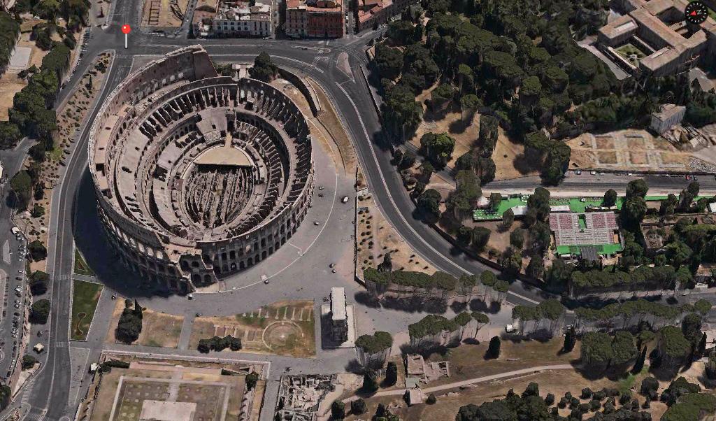Rome 3D Maps app iOS 7 closer