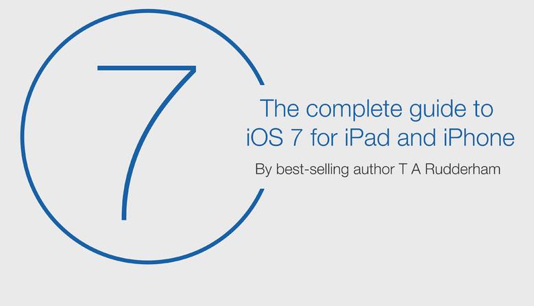 iOS 7 book art