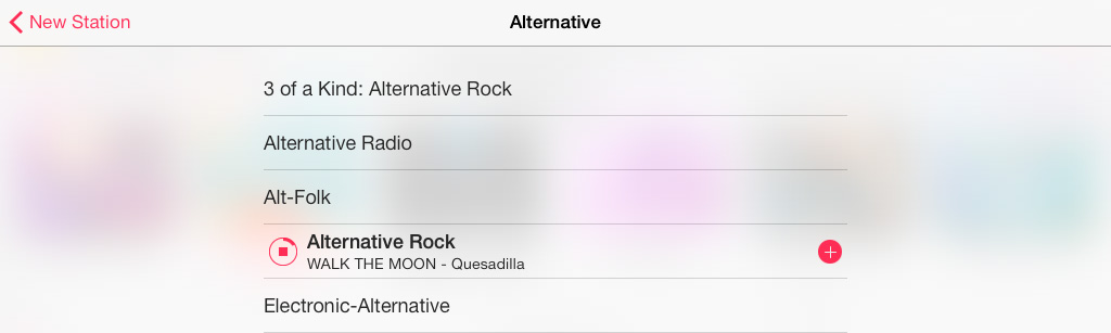 Add Genre Station iTunes Radio