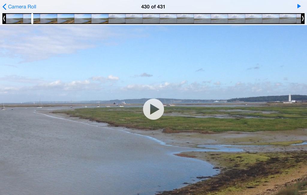 Edit video iPad iOS 7