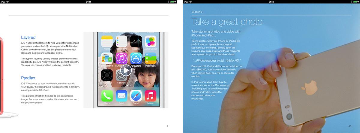 iOS 7 book screenshots 1