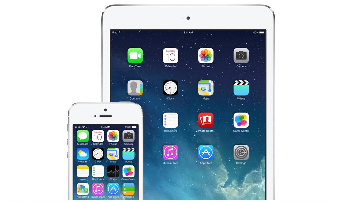 iOS 7 main image