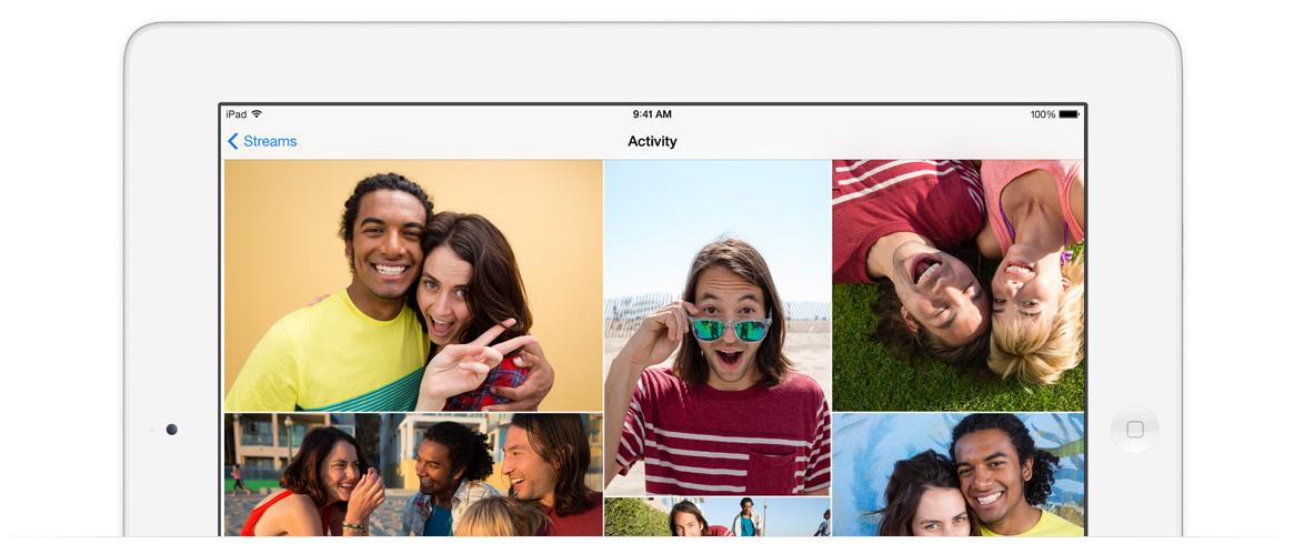 iOS 7 photos app