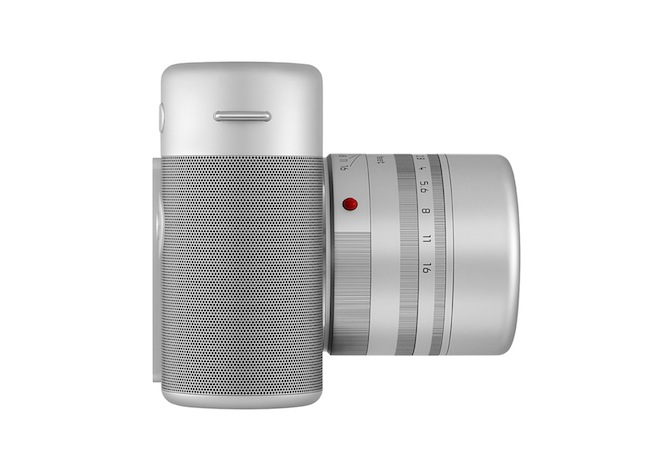 Leica camera side by Jony Ive