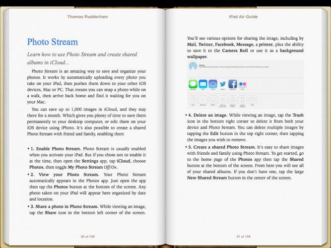iPad Air Guide Book screenshot 3