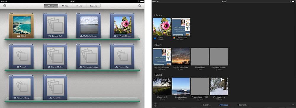 iPhoto iOS 7 Comparison 1 thumb