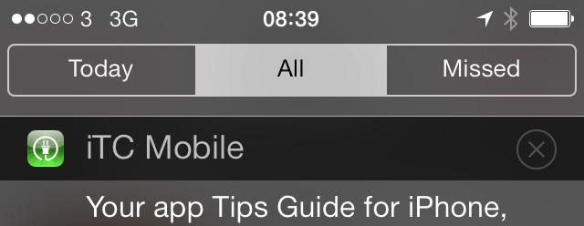 Updated clear button iOS 7.1