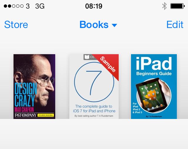 iBooks iOS 7 1 featured