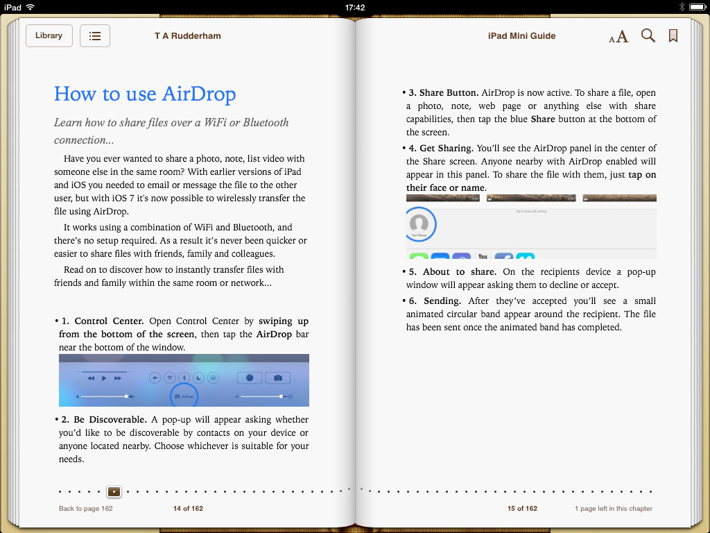 iPad mini book screenshot 1