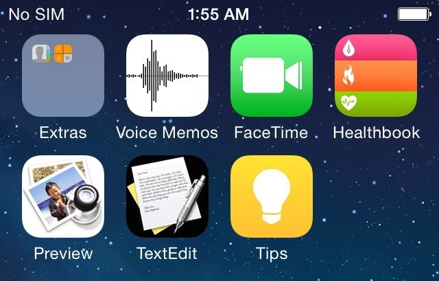 iOS 8 Healthbook app icon