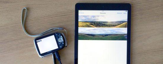 Photos from camera to iPad