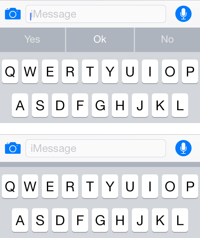 how to get predictive text on iphone ios 8 features you won t about 1169