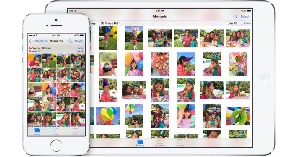 New Photos app iOS 8