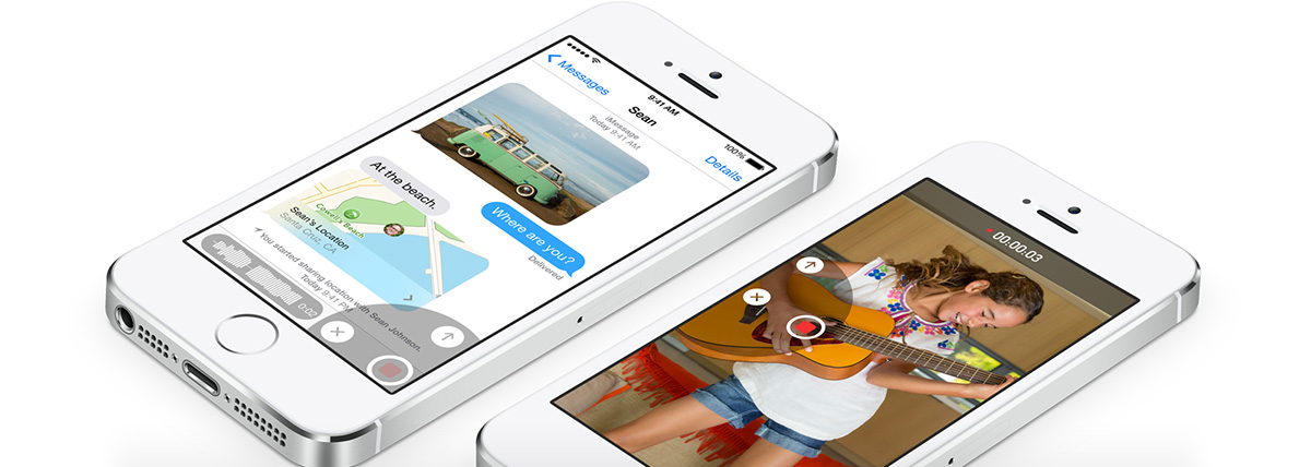 iOS 8 Messages app