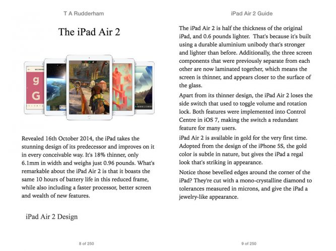 iPad Air Guide 2 Book image 1